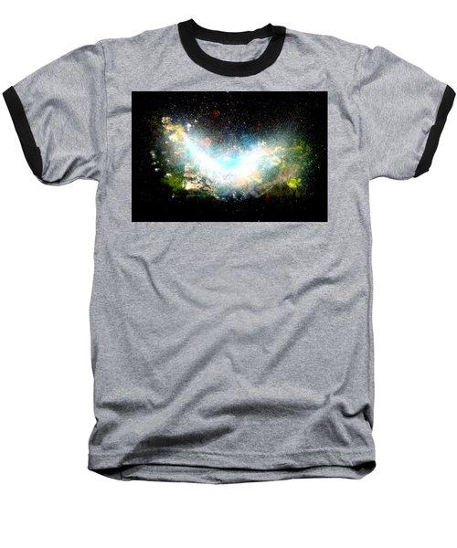 Hubble Birth Of A Galaxy Baseball T-Shirt