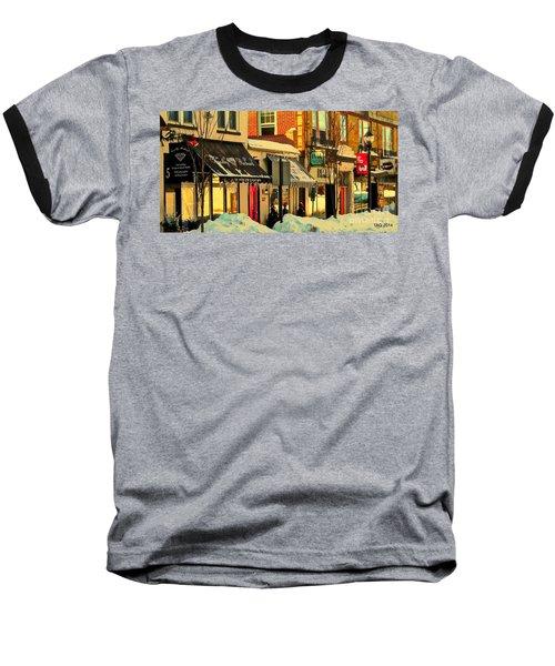 Hues On The Rue Baseball T-Shirt