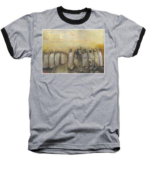 'humble Procession Of The King' Baseball T-Shirt
