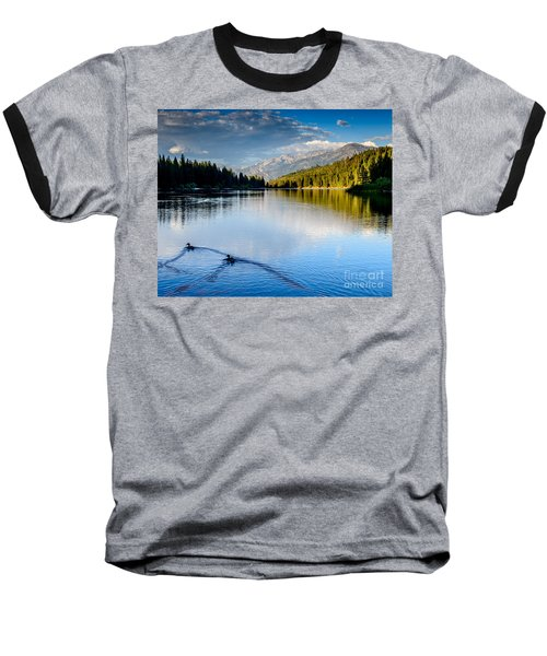 Hume Lake Evening Baseball T-Shirt