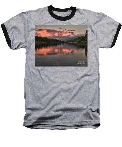 Hume Lake Sunset Baseball T-Shirt