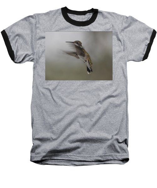 Baseball T-Shirt featuring the photograph Hummingbird 6 by Leticia Latocki
