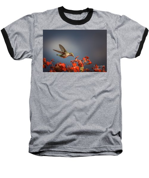 Hummingbird Or My Summer Visitor Baseball T-Shirt
