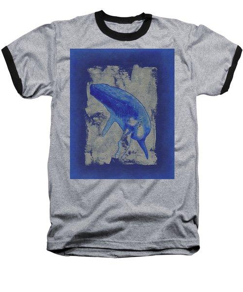 Humpback Whale Song Baseball T-Shirt