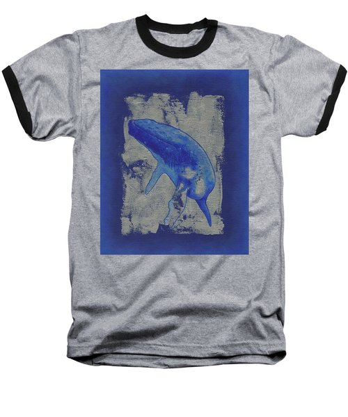 Humpback Whale Song Baseball T-Shirt