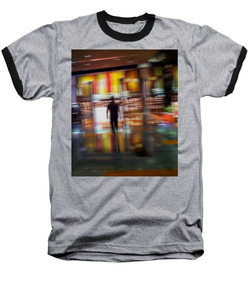 Baseball T-Shirt featuring the photograph Hunter-gatherer by Alex Lapidus
