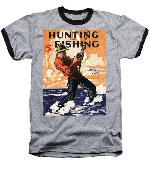 Hunting And Fishing Baseball T-Shirt