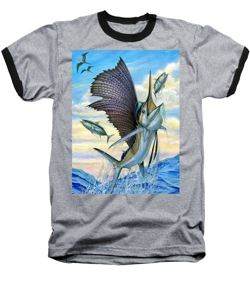 Hunting Of Small Tunas Baseball T-Shirt