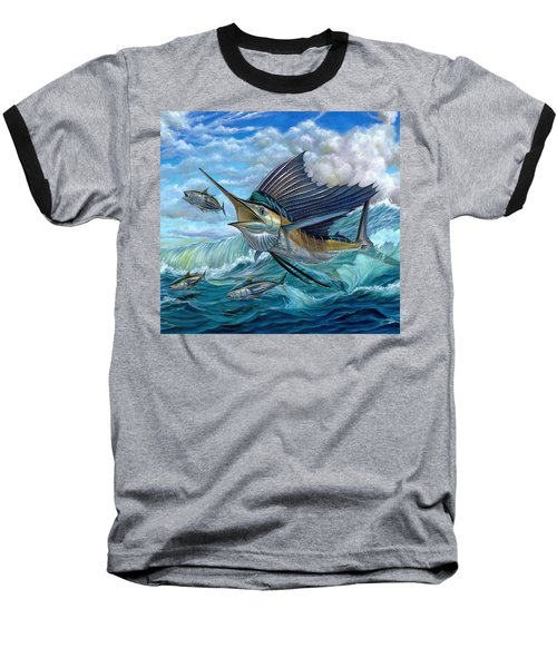 Hunting Sail Baseball T-Shirt