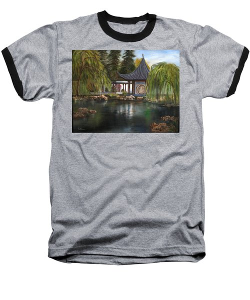 Huntington Chinese Gardens Baseball T-Shirt