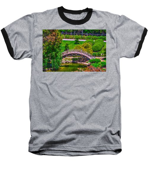Huntington Library Ca Baseball T-Shirt by Richard J Cassato