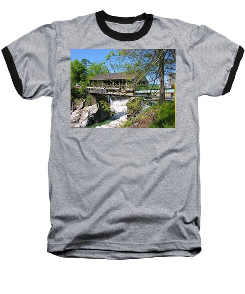 Baseball T-Shirt featuring the photograph Hurricane Irenes Destruction by Sherman Perry