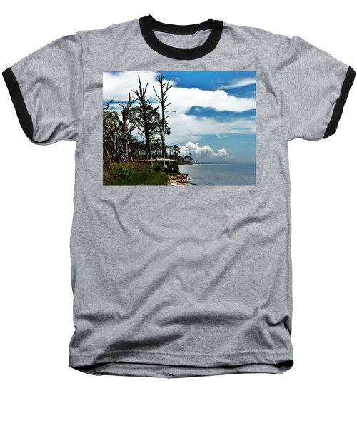 Baseball T-Shirt featuring the photograph Hurricane Trail by Faith Williams