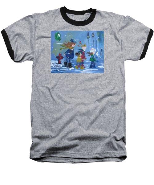 Hurry Home Baseball T-Shirt by Terri Einer