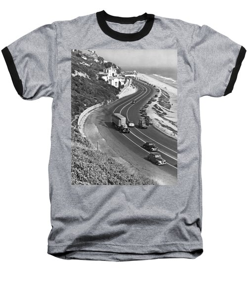 Hwy 101 In Southern California Baseball T-Shirt
