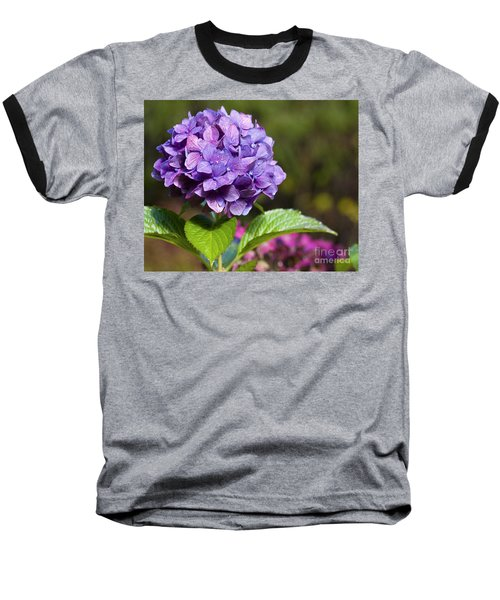 Baseball T-Shirt featuring the photograph Hydrangea by Belinda Greb