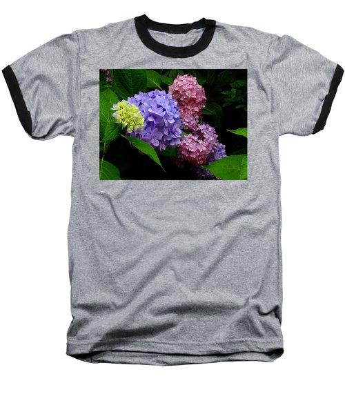 Hydrangea Glow Baseball T-Shirt