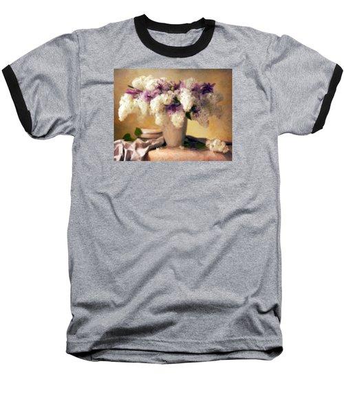 Hydrangea Summer Display Baseball T-Shirt