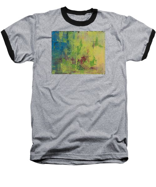 Curious Yellow Baseball T-Shirt by Lee Beuther