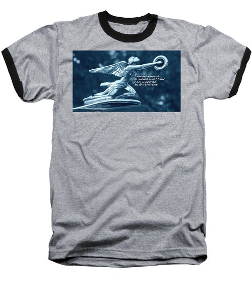 Baseball T-Shirt featuring the photograph I Am Determined by Patrice Zinck