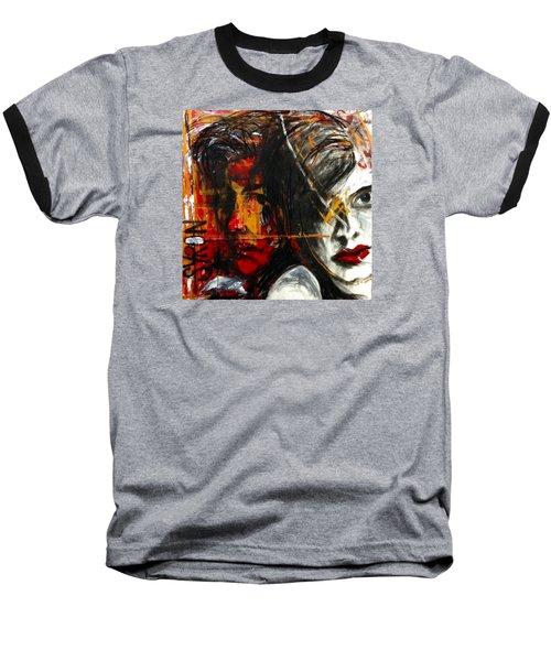 I Feel You Baseball T-Shirt by Helen Syron