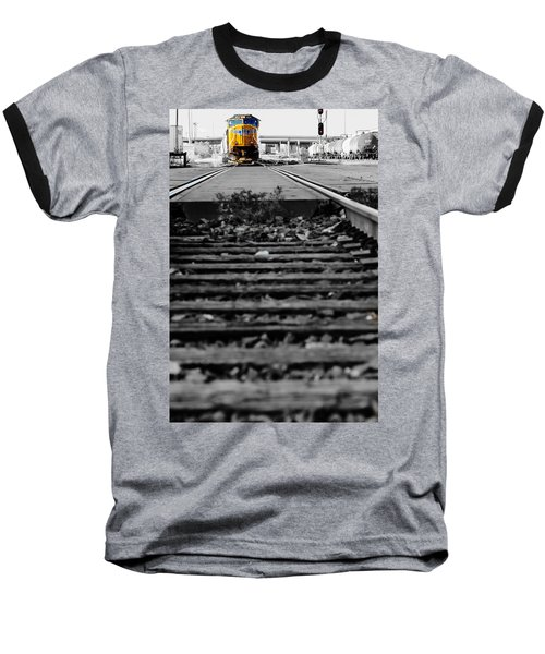 I Hear The Whistle Blowing Baseball T-Shirt