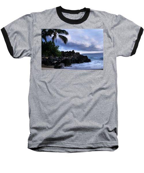 I Ke Kai Hawanawana Eia Kuu Lei Aloha - Paako Beach Maui Hawaii Baseball T-Shirt