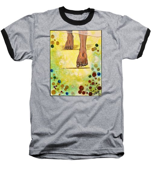 I Knock Baseball T-Shirt by Cassie Sears