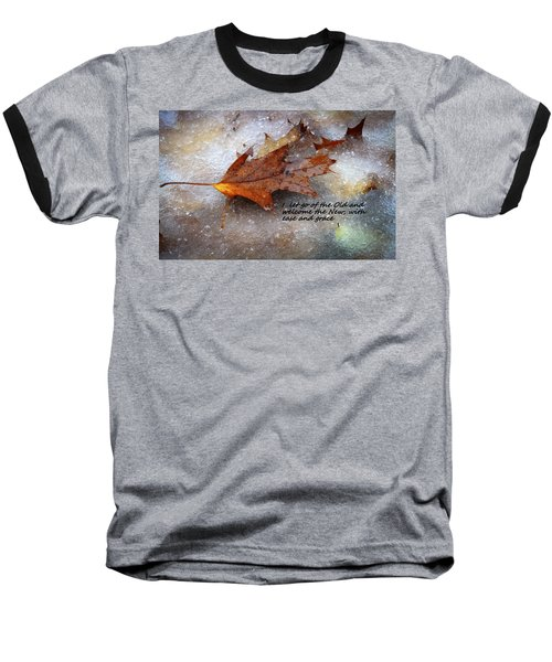 Baseball T-Shirt featuring the photograph I Let Go by Patrice Zinck