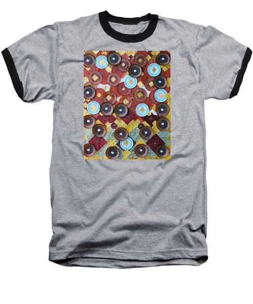 I Love Chocolates Baseball T-Shirt by Lorna Maza