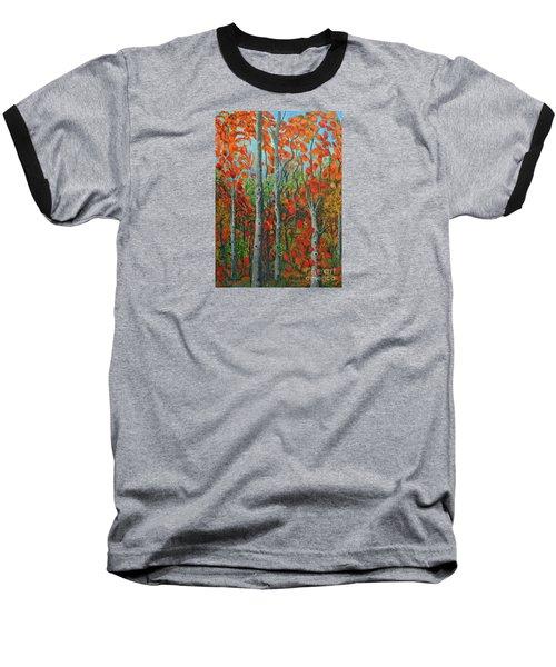 I Love Fall Baseball T-Shirt