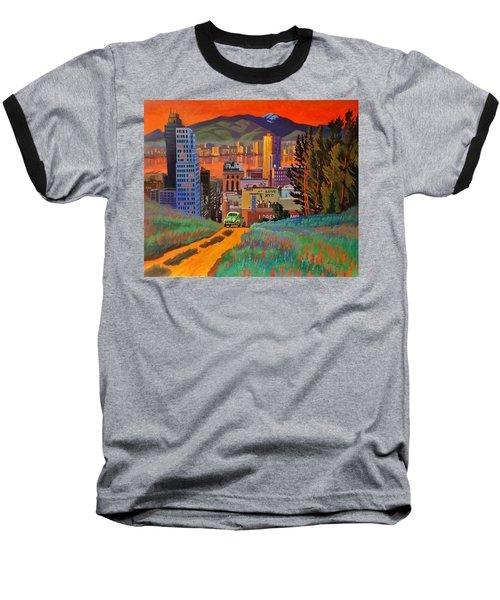 I Love New York City Jazz Baseball T-Shirt