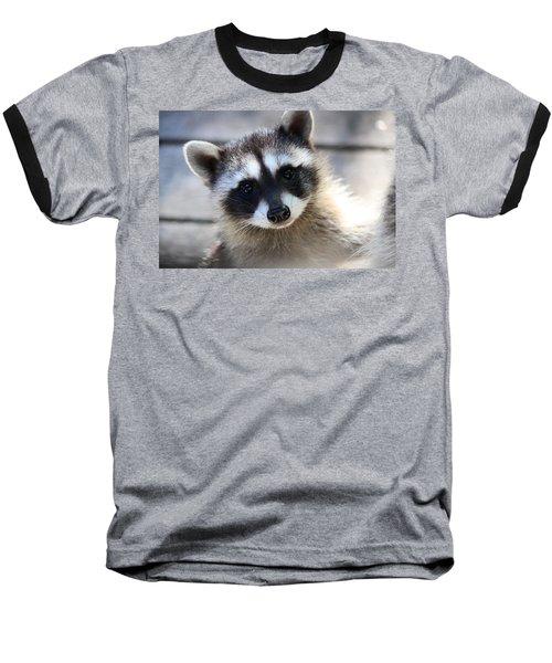 I Love You Too Baseball T-Shirt by Kym Backland