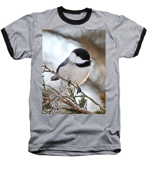 Baseball T-Shirt featuring the photograph I May Be Tiny But You Should See Me Fly by Heather King