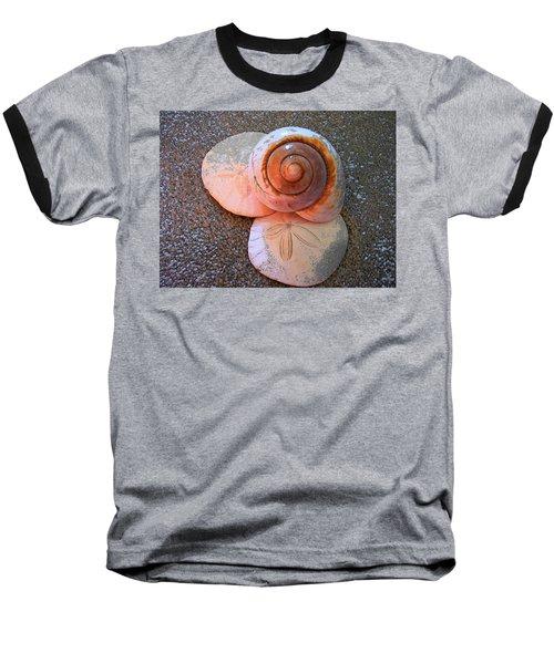 Baseball T-Shirt featuring the photograph I Sea Art by Micki Findlay
