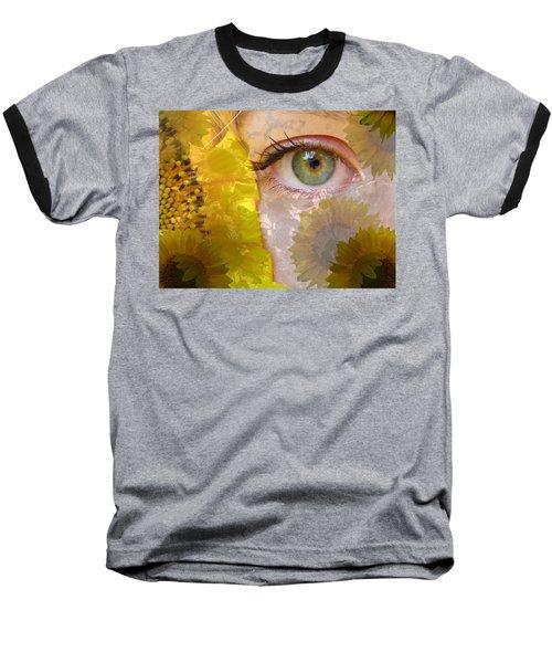 I See Sunflowers Baseball T-Shirt
