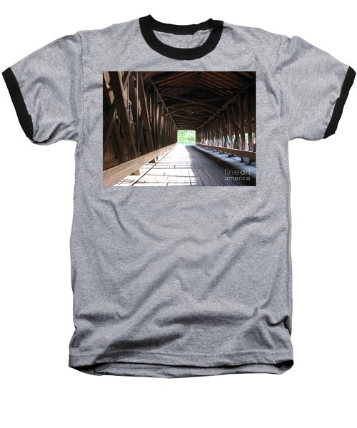 I See The Light Baseball T-Shirt by Michael Krek