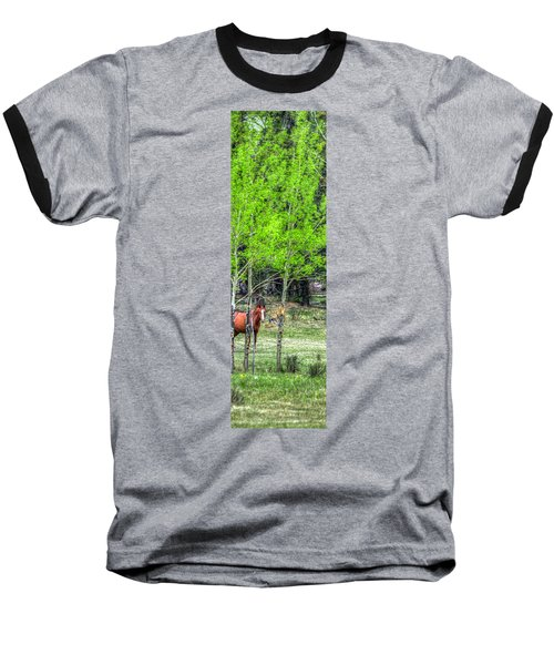 I See You 6172 Baseball T-Shirt by Jerry Sodorff