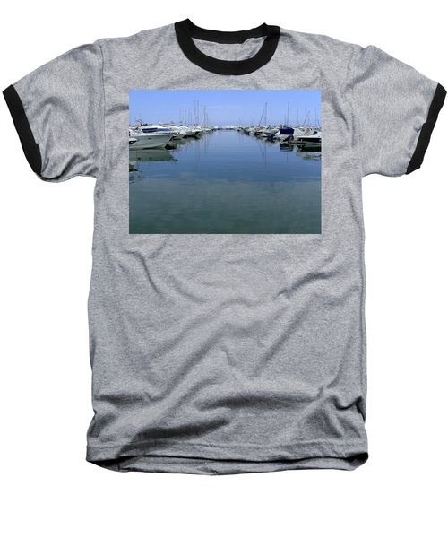 Ibiza Harbour Baseball T-Shirt