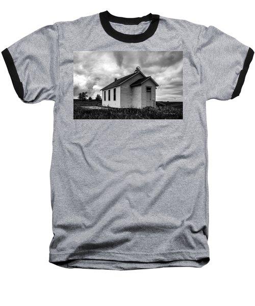 Icarian Schoolhouse Baseball T-Shirt
