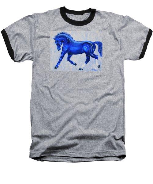 Ice Blue Baseball T-Shirt