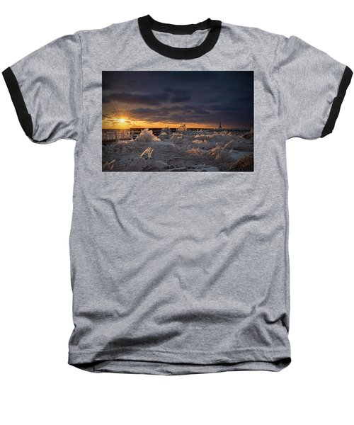 Ice Fields Baseball T-Shirt