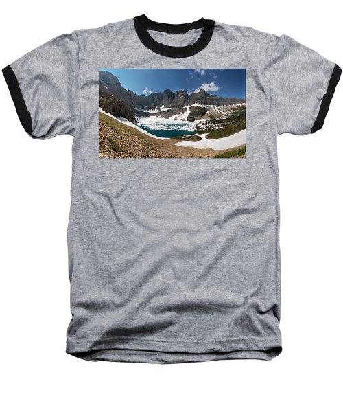 Baseball T-Shirt featuring the photograph Iceberg Lake by Aaron Aldrich