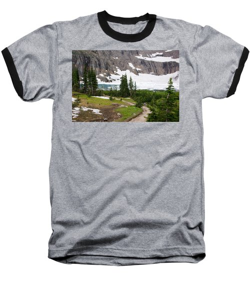 Iceberg Lake Baseball T-Shirt