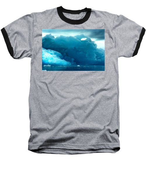 Baseball T-Shirt featuring the photograph Icebergs by Amanda Stadther