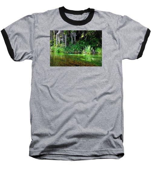 Ichetucknee Springs 1a Baseball T-Shirt
