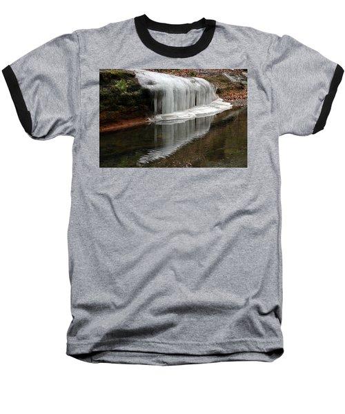 Icicle Reflection  Baseball T-Shirt