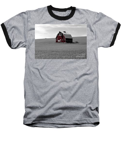 Baseball T-Shirt featuring the photograph Icon Of The Palouse by Sharon Elliott