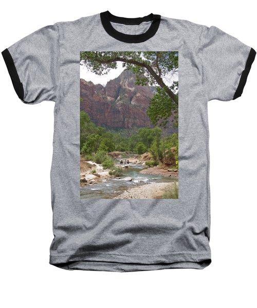 Iconic Western Scene Baseball T-Shirt