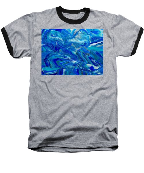 Icy Blue Baseball T-Shirt